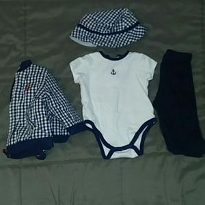 Baby Boys 6 months sailor outfit